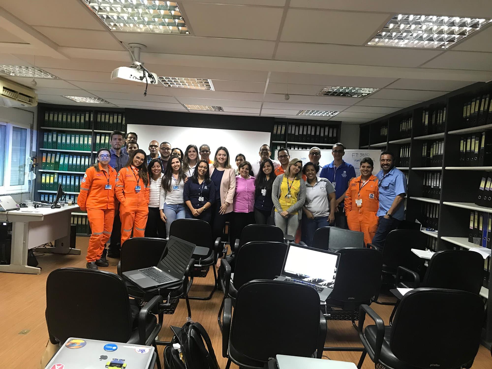 Curso in Company Perbras – Salvador BA